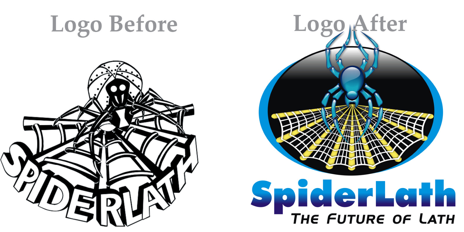 Redesign of Spider Lath Logo