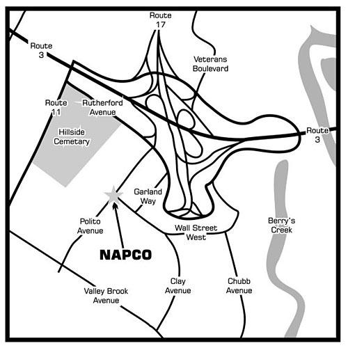 Lyndhurst-map