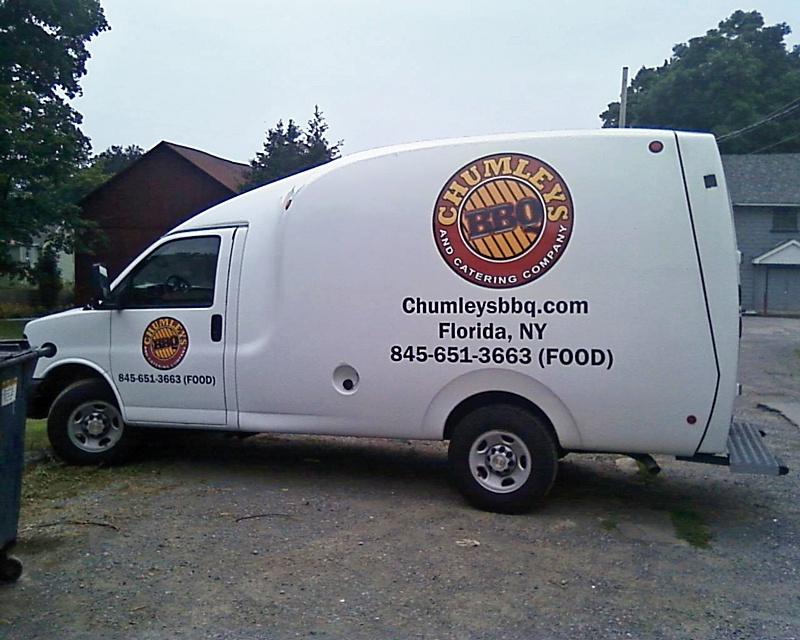 Chumley Truck - Side View