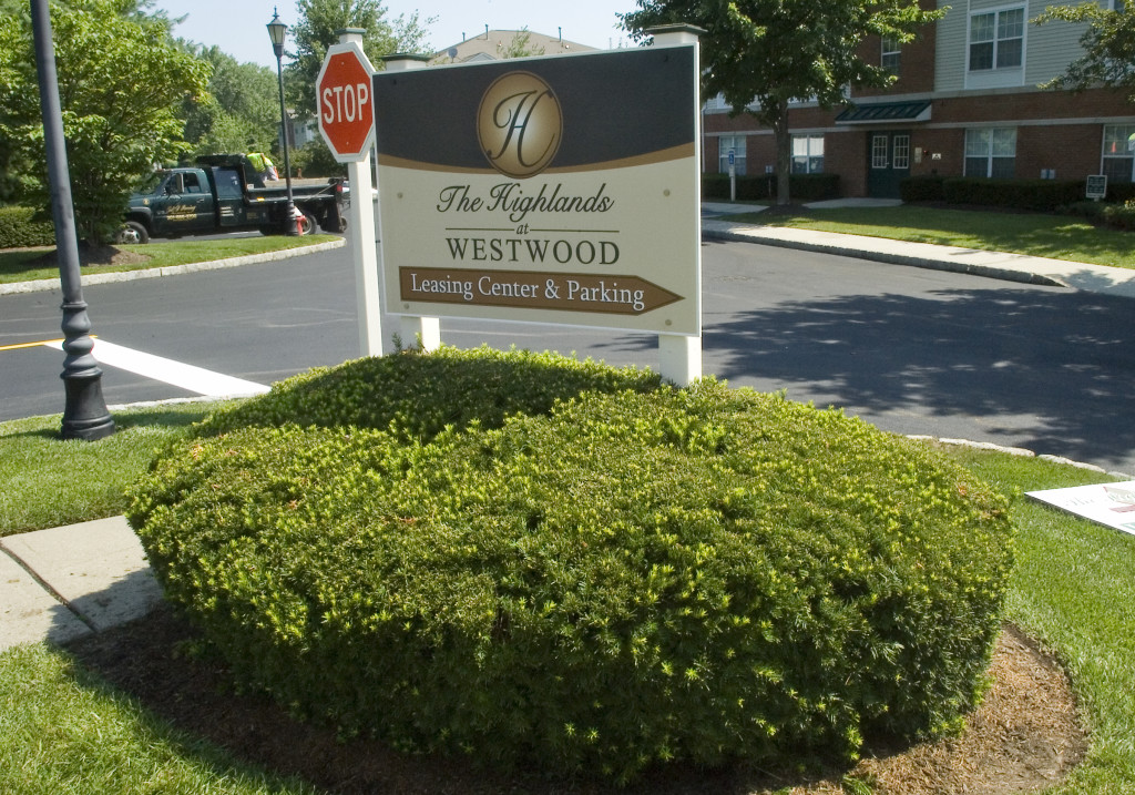 The Highlands at Westwood Sign Board
