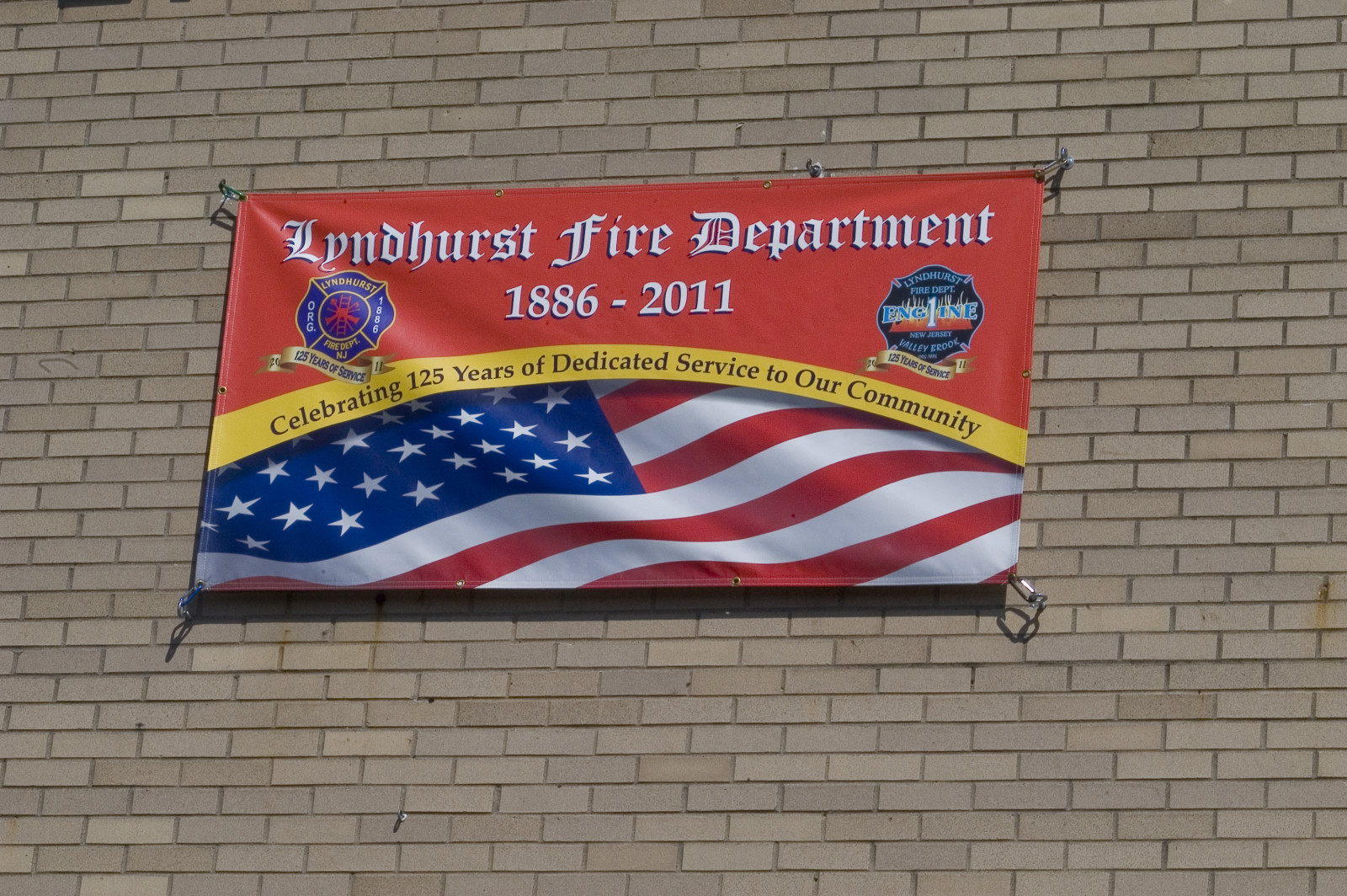 Lyndhurst Fire Department Banner